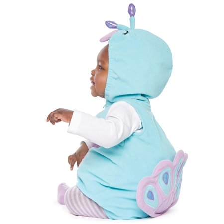 Carters Halloween Costume Baby Girl Peacock Turquoise 18M