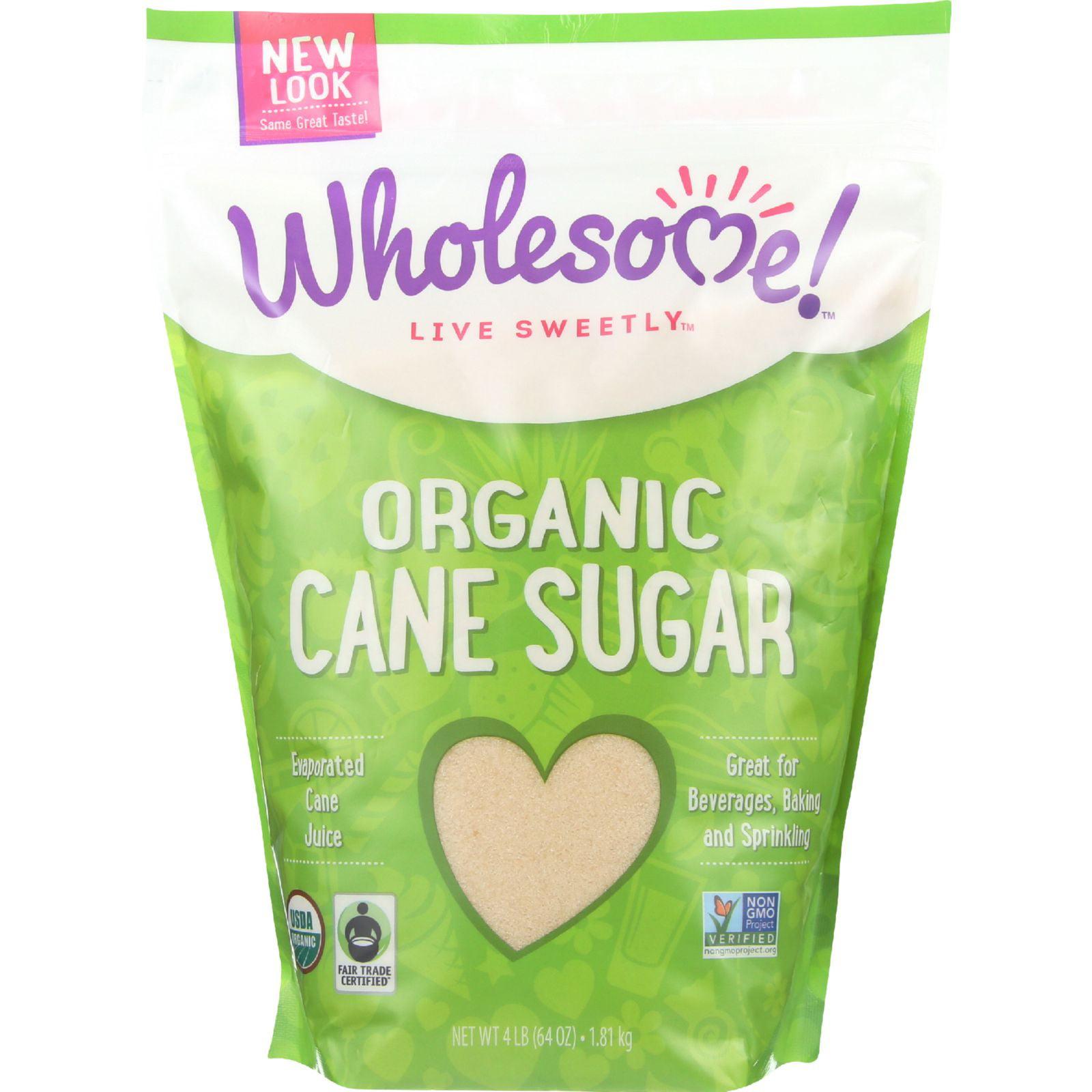Wholesome Sweeteners Sugar - Organic - Turbinado - Raw Ca...