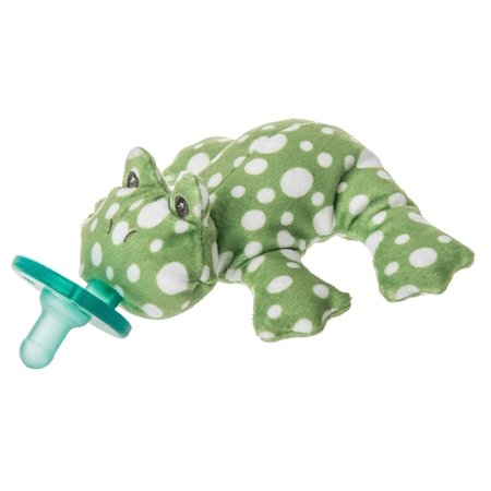 Mary Meyer WubbaNub Newborn Baby Infant Soothie Pacifier ~ Fizzy Frog Newborn Soothie Soother