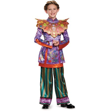 Alice in Wonderland Asian Deluxe Child Halloween - Dark Alice Halloween Costume