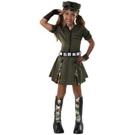 Rubie's Drama Queens Child's Major Flirt Costume, Large - Major Flirt Costume