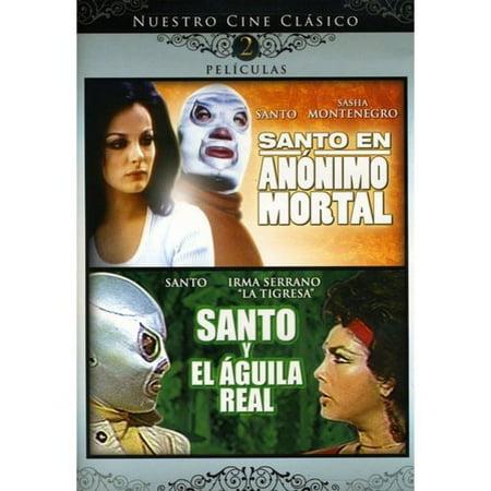 Santo En Anonimo Mortal   Santo Y El Aguila Real Double Feature  Spanish   Full Frame