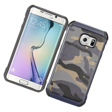 Insten Camouflage Hard Dual Layer Hybrid Case For Samsung Galaxy S7 - Gray/Black - image 2 de 4