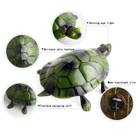 Infrared Remote Control Realistic Fake Tortoise RC Prank Toy Insects Joke Scary Trick For Party Or Christmas&Halloween Gift