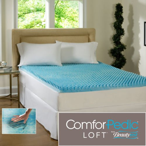 Beautyrest 4-inch Memory Foam Mattress Topper Is a Great Addition If You Suffer From Sleeping Problems. Make Sleeplessness a Thi