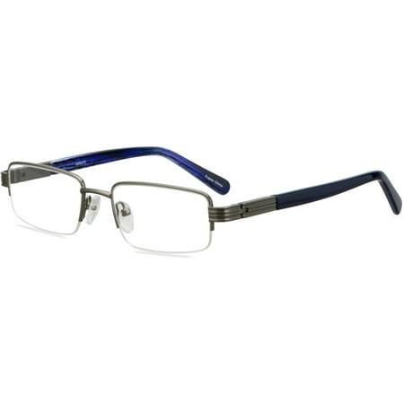 Image of ADOLFO Boys Prescription Glasses, Playoff Gunmetal Blue