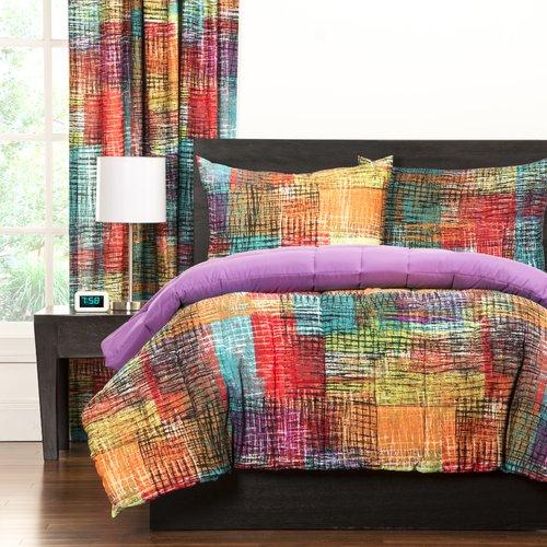 Crayola EtchFull/Queen Comforter Set