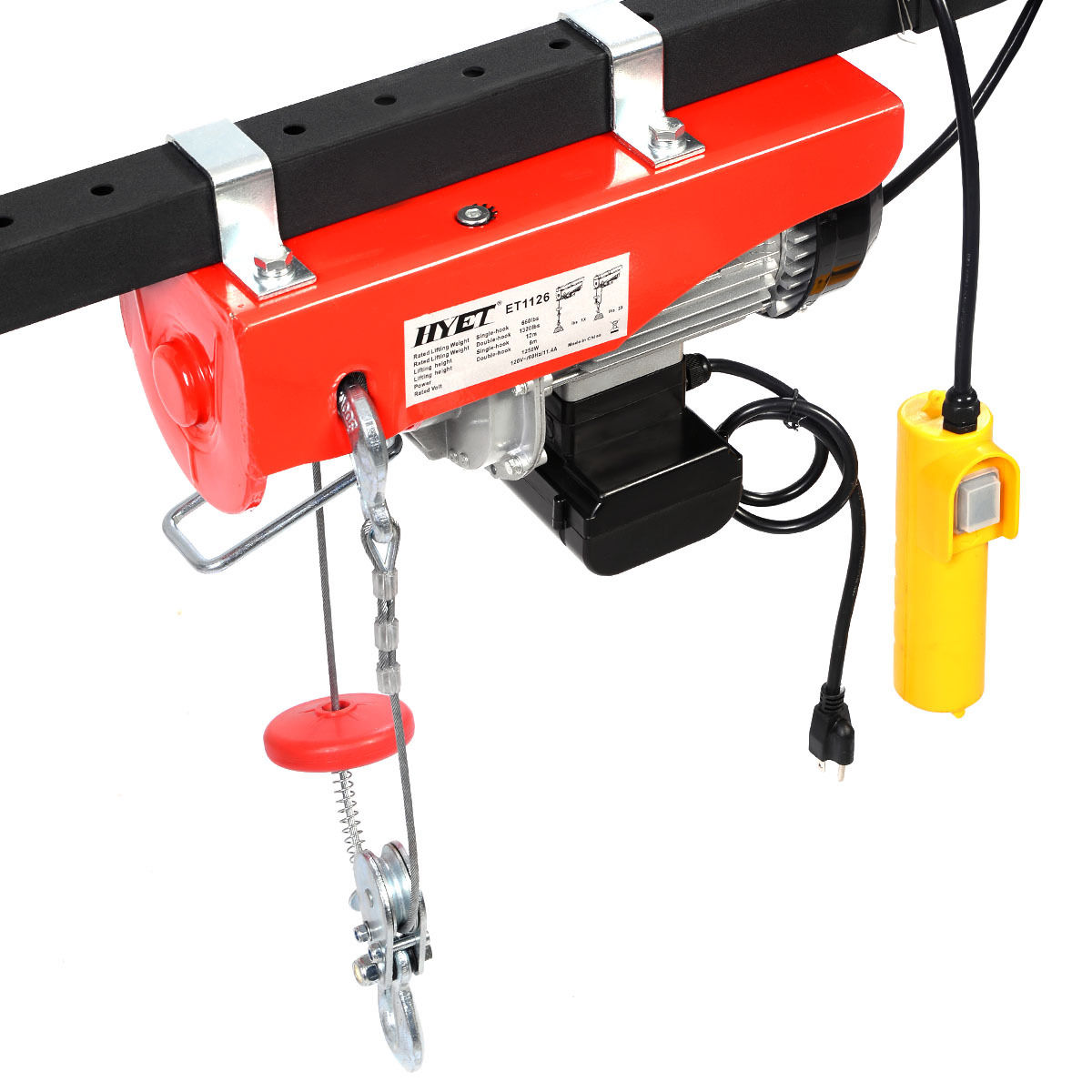 GHP 1320Lbs Double Line Lift Mini Automatic Electric Wire...