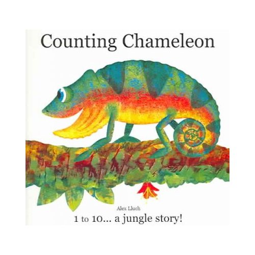 Counting Chameleon: 1 To 10...a jungle story!