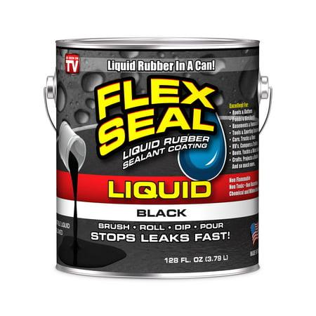 Flex Seal Liquid Rubber in a Can, 1-gal, Black