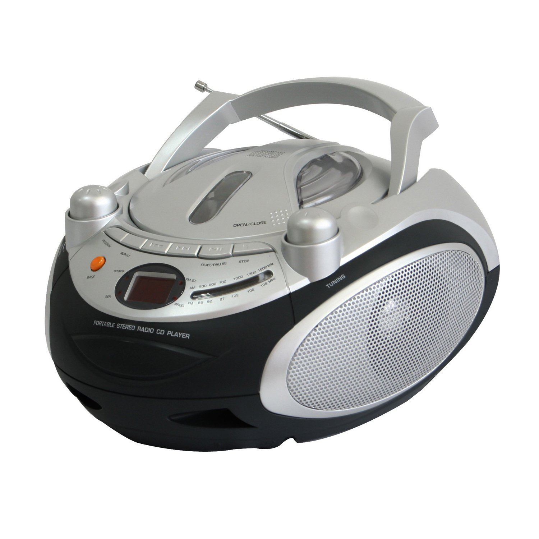 NAXA NPB_245 Portable CD Player & AM_FM Stereo Radio