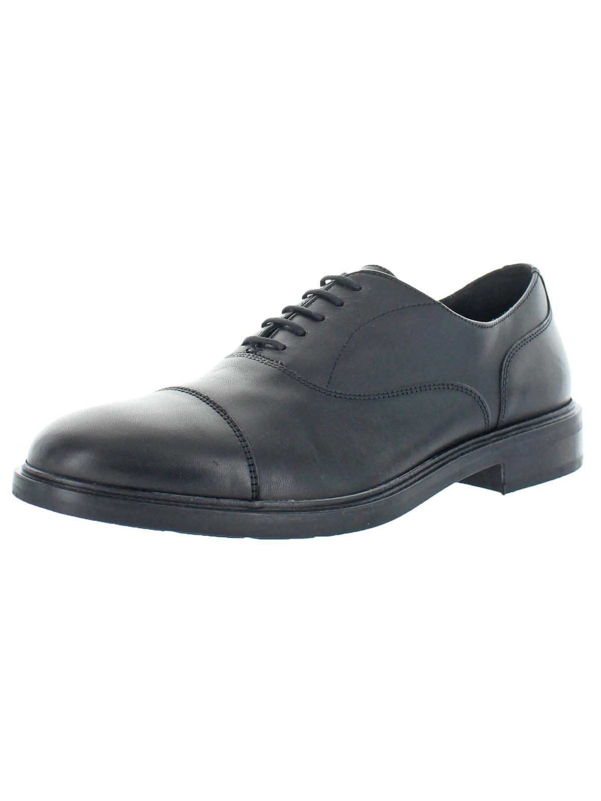 segundo Sobrio Acorazado  Geox - Geox Respira Mens Curtwain Leather Lace Up Cap Toe Oxfords -  Walmart.com - Walmart.com