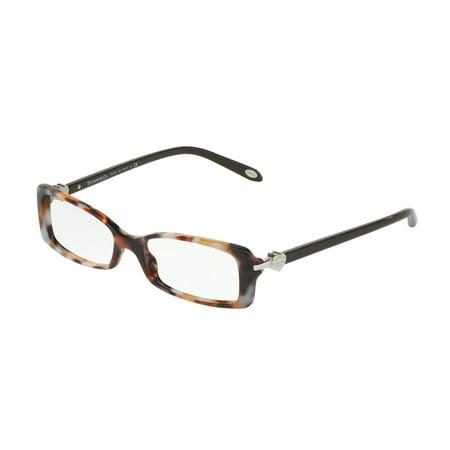 f01ada42972 Tiffany Optical 0TF2035 Full Rim Rectangle Womens Eyeglasses - Size 50  (Dark Havana Spotted Blue) - Walmart.com