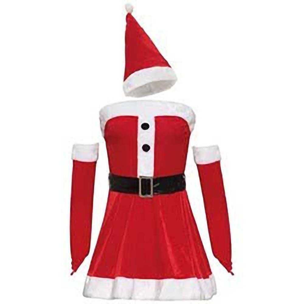 ChristmasShop Boys Santa Fancy Dress Costume