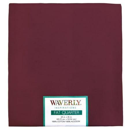 Arms Merlot Fabric (Waverly Inspiration Cotton 18