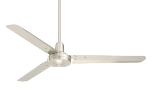 Emerson Ceiling Fans Hf956bs Industrial Ceiling Fan Indoor Ceiling Fan With 56 Inch Blade Span Brushed Steel Finish Brushed Walmart Canada