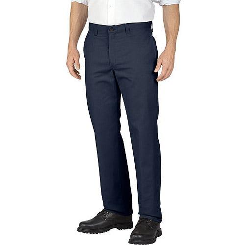 Genuine Dickies Men's Flat Front Pant