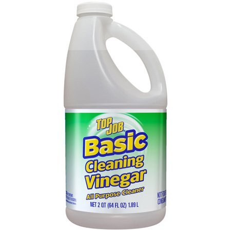 Top Job Basic Cleaning Vinegar All Purpose Cleaner 64 Fl