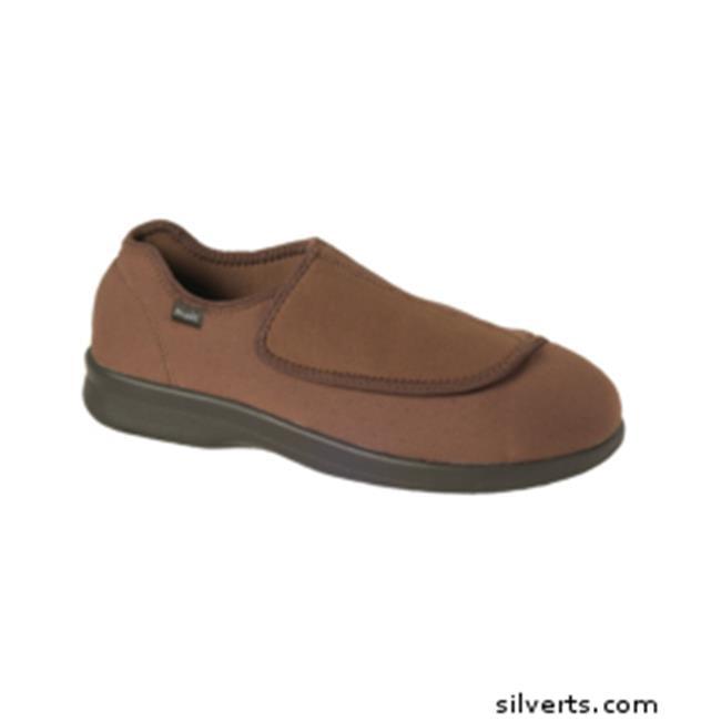 Silverts 509900214 Mens Medi Shoe-Slipper With Fasteners ...