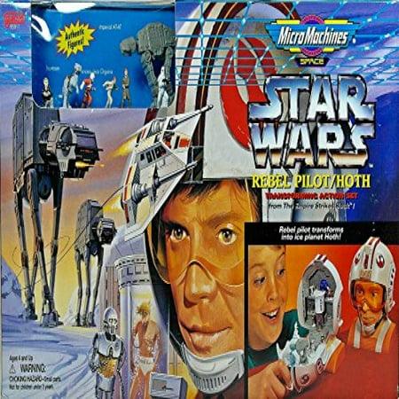 Micro Machines Luke Skywalker Hoth Transforming Action Play Set Star Wars