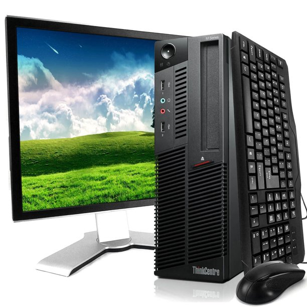 Lenovo M91 ThinkCentre Desktop Computer Intel Core I5 3.2GHz 8GB RAM 500GB HDD Windows 10 Home Includes Bluetooth,WIFI,19in LCD and Keyboard and Mouse
