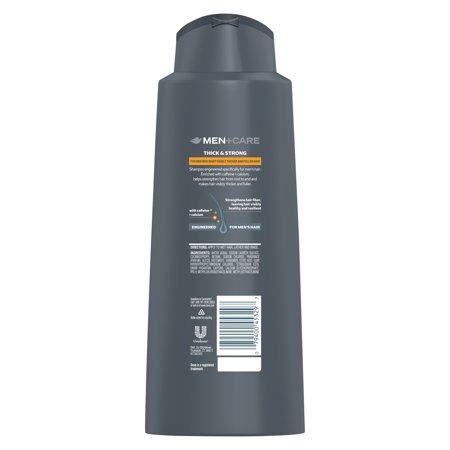 Best Dove Men+Care 2 in 1 Shampoo and Conditioner Thick and Strong 20.4 oz deal