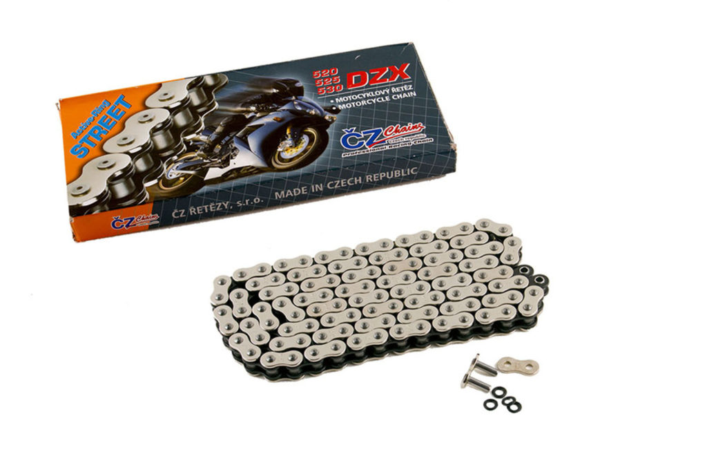 Heavy Duty Motorcycle O-Ring Drive Chain 520-114 Gold Kawasaki ER-6F 06-11