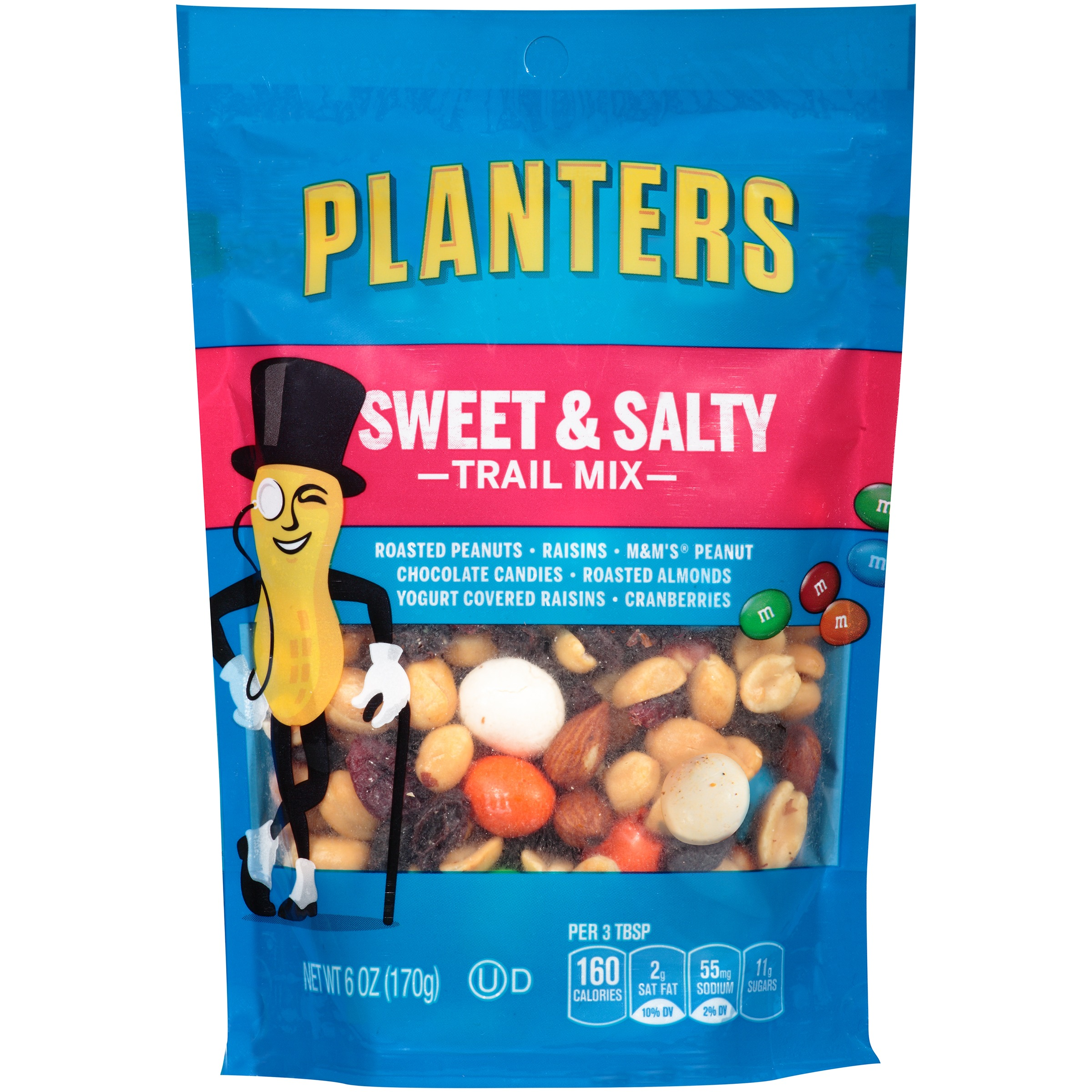 (2 Pack) Planters Sweet & Salty Trail Mix 6 oz. Bag