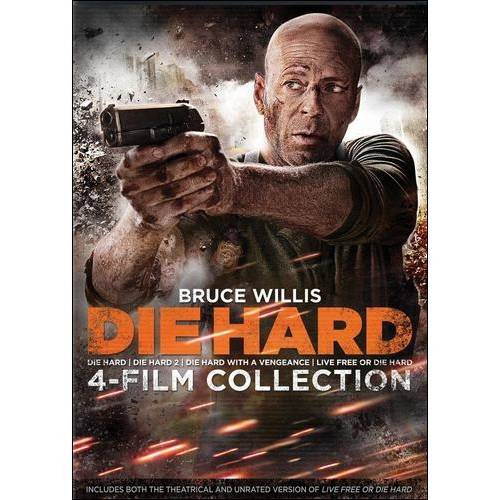 Die Hard 4-Film Collection: Die Hard / Die Harder / Die Hard With A Vengeance / Live Free Or Die Hard (Widescreen)