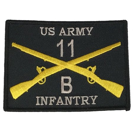 COMBAT INFANTRYMAN 11B PATCH ARMY INFANTRY GRUNT SF SPECIAL FORCES RIFLE