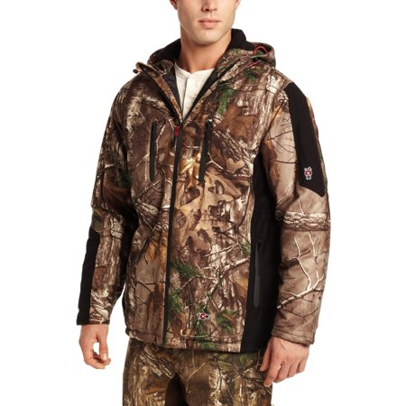 10X Men's Insulated Waterproof-Breathable Hooded Parka, Extra, Xx-Large thumbnail