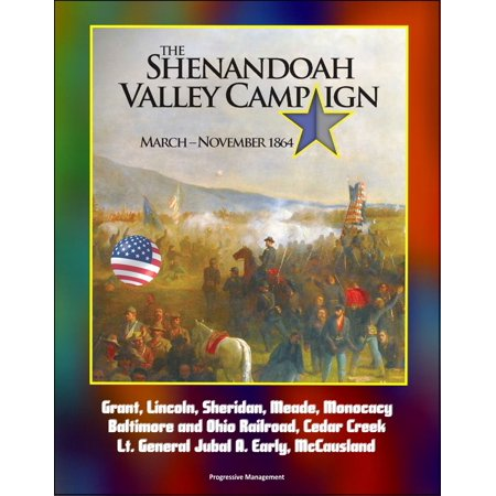 Ohio Railroad Stock - The Shenandoah Valley Campaign: March -November 1864: Grant, Lincoln, Sheridan, Meade, Monocacy, Baltimore and Ohio Railroad, Cedar Creek, Lt. General Jubal A. Early, McCausland - eBook