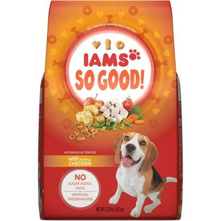 Is Iams Naturals Good Dog Food