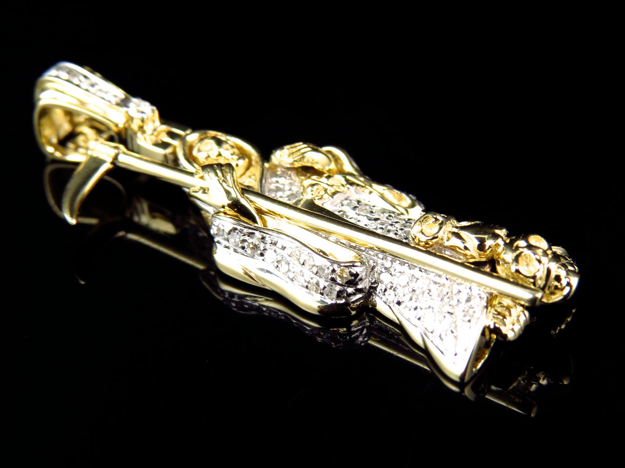 10k yellow gold genuine diamond grim reaper pendant charm 050ct 10k yellow gold genuine diamond grim reaper pendant charm 050ct 150 walmart aloadofball Gallery