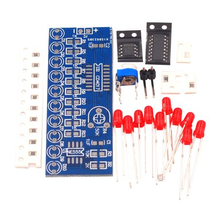 Water Light Kit NE555+CD4017 Electronic DIY Parts Electronic Production Kit - image 1 of 6