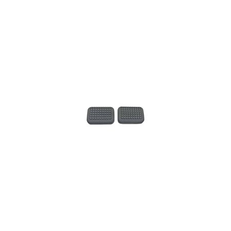 MACs Auto Parts  48-30110 Ford Pickup Truck Brake & Clutch Pedal Pads - Rubber - Reproduction - F100 & F250 4WD