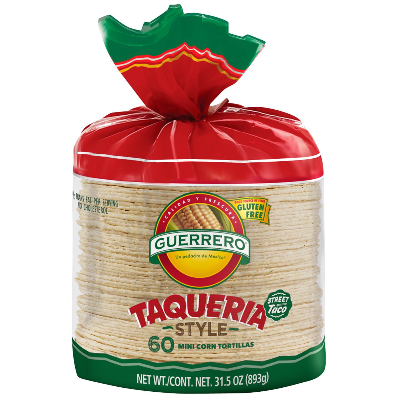 Guerrero® Corn Tortillas 60 ct Bag