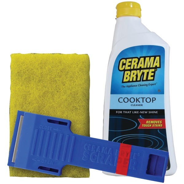 Brand New CERAMA BRYTE 27068 Cooktop Cleaning Kit