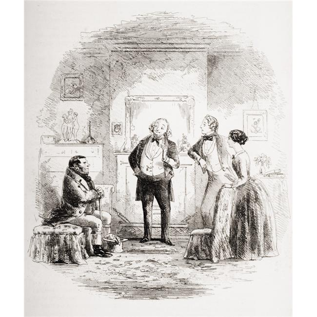 Posterazzi DPI1860123LARGE Coavinses Illustration by Phiz 1815-1882 From The Book Bleak House by Charles Dickens Published London 1853 Poster Print, Large - 26 x 32 - image 1 de 1