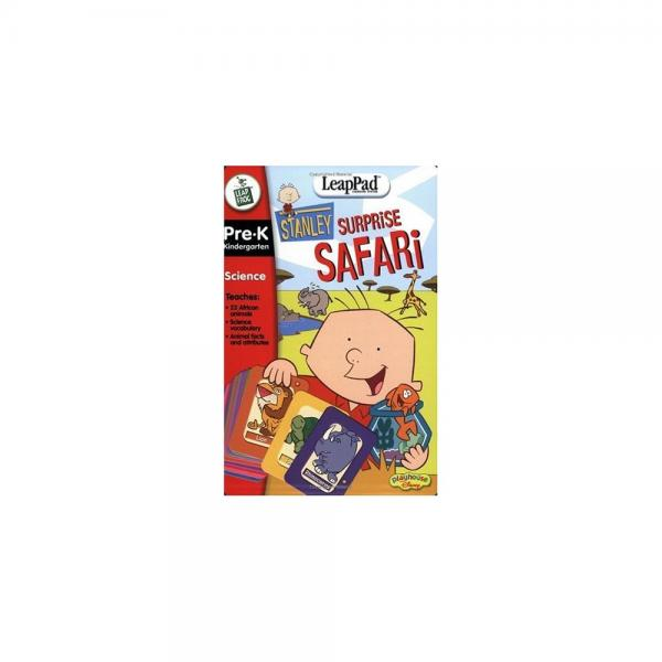 LeapFrog LeapPad Educational Book: Stanley Surprise Safari with Interactive Cards by