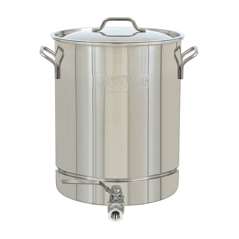 Barbour International Bayou Classic 64-Quart Stainless Steel Stockpot with Spigot