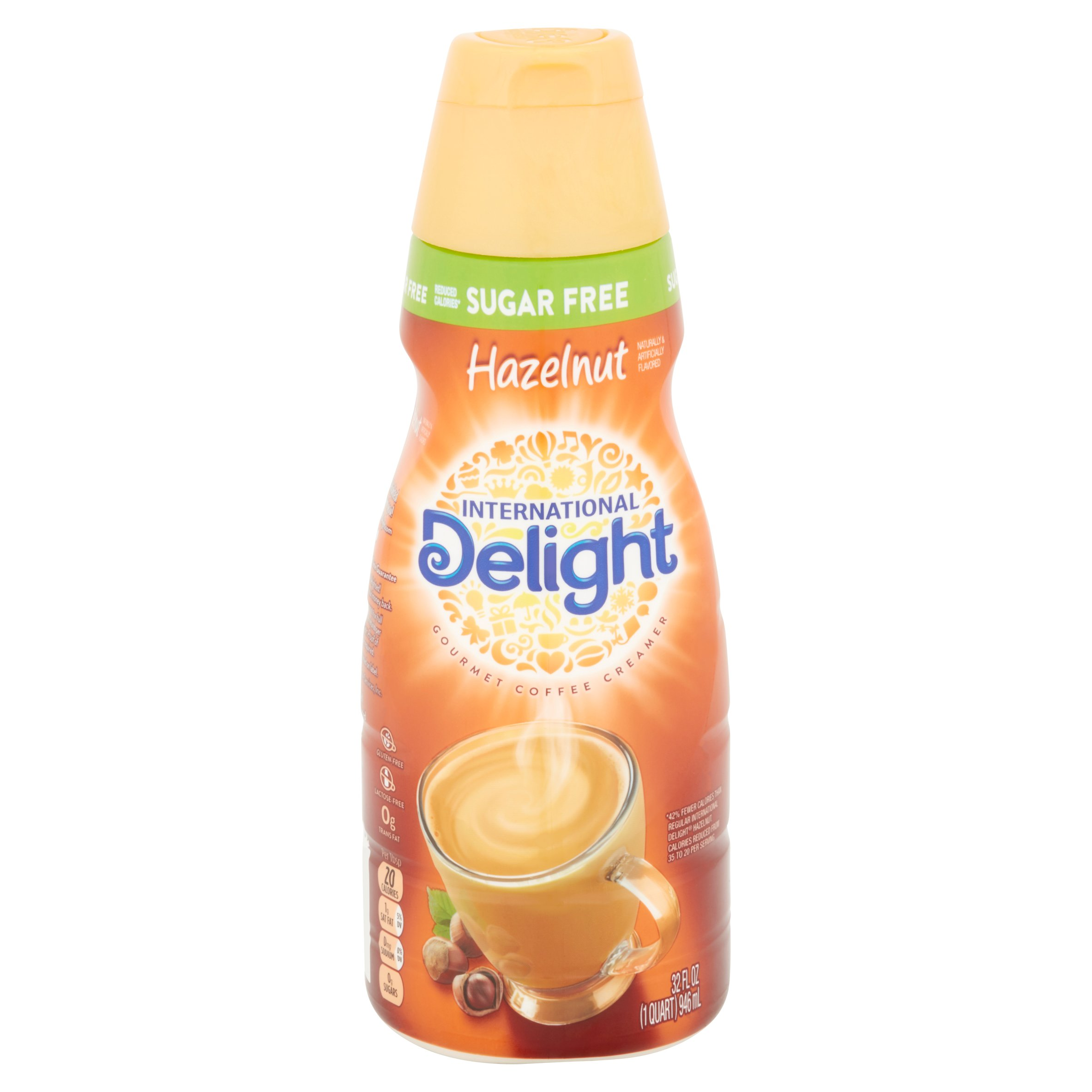 International Delight Hazelnut Coffee Creamer Nutrition Facts | Besto Blog