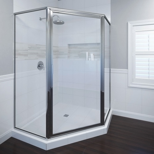 Basco Deluxe 14'' x 68.6'' Neo-Angle Shower Enclosure