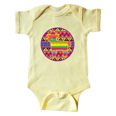 Pinata Cinco de Mayo Mexican Pattern Infant Creeper