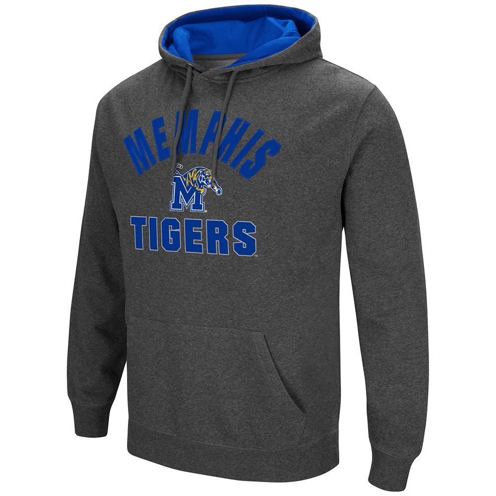 Mens NCAA Memphis Tigers Pull-over Hoodie by Colosseum