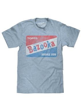 Tee Luv Bazooka Bubble Gum Candy Logo T-Shirt (Small)