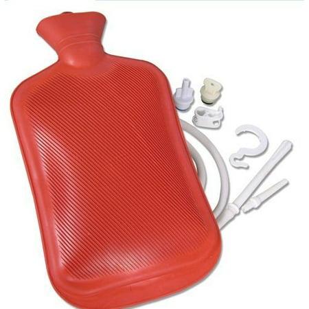 Jobar International Deluxe Hot Water Bottle Kit (Hot Water Bottle Microwave)