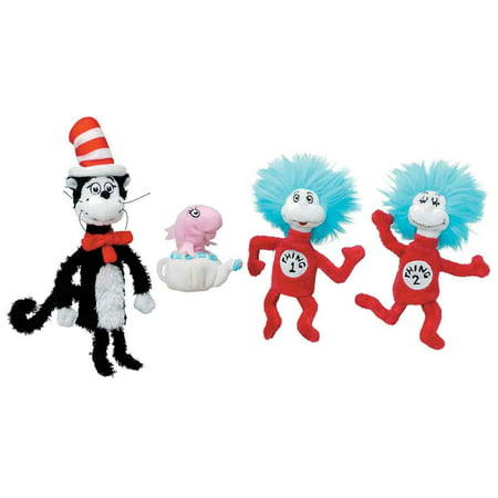 Manhattan Toy Dr. Seuss Cat in The Hat Boxed Finger Puppet - Cat In The Hat Toy