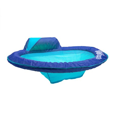 SwimWays Spring Float Sol Seat Adult Swimming Pool Lounge Chair with ...