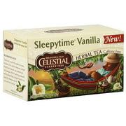 Celestial Seasonings Sleepytime Vanilla Caffeine Free Herbal Tea, 1 oz (Pack of 6)